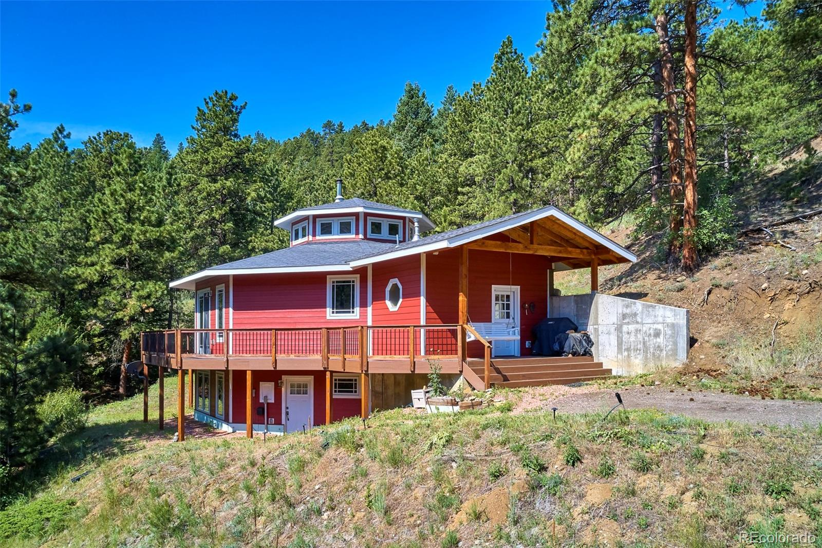 3915 James Canyon Road Property Photo - Jamestown, CO real estate listing