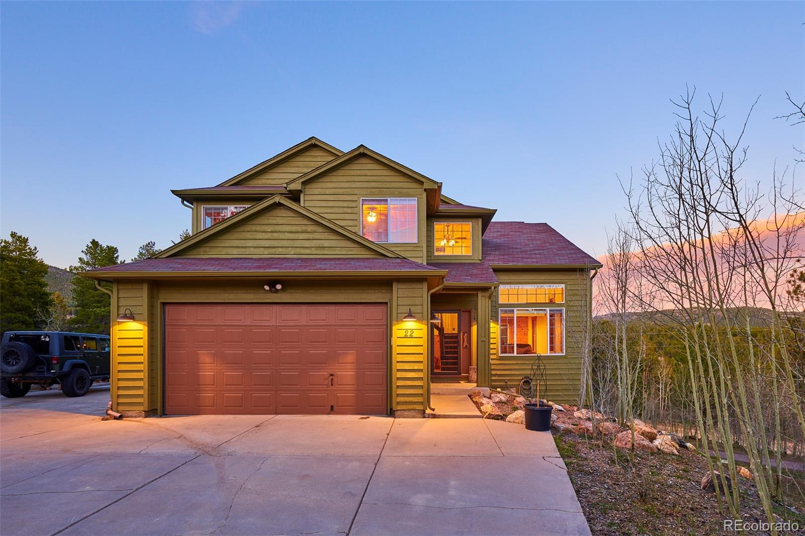 22 Spruce Way Property Photo - Black Hawk, CO real estate listing