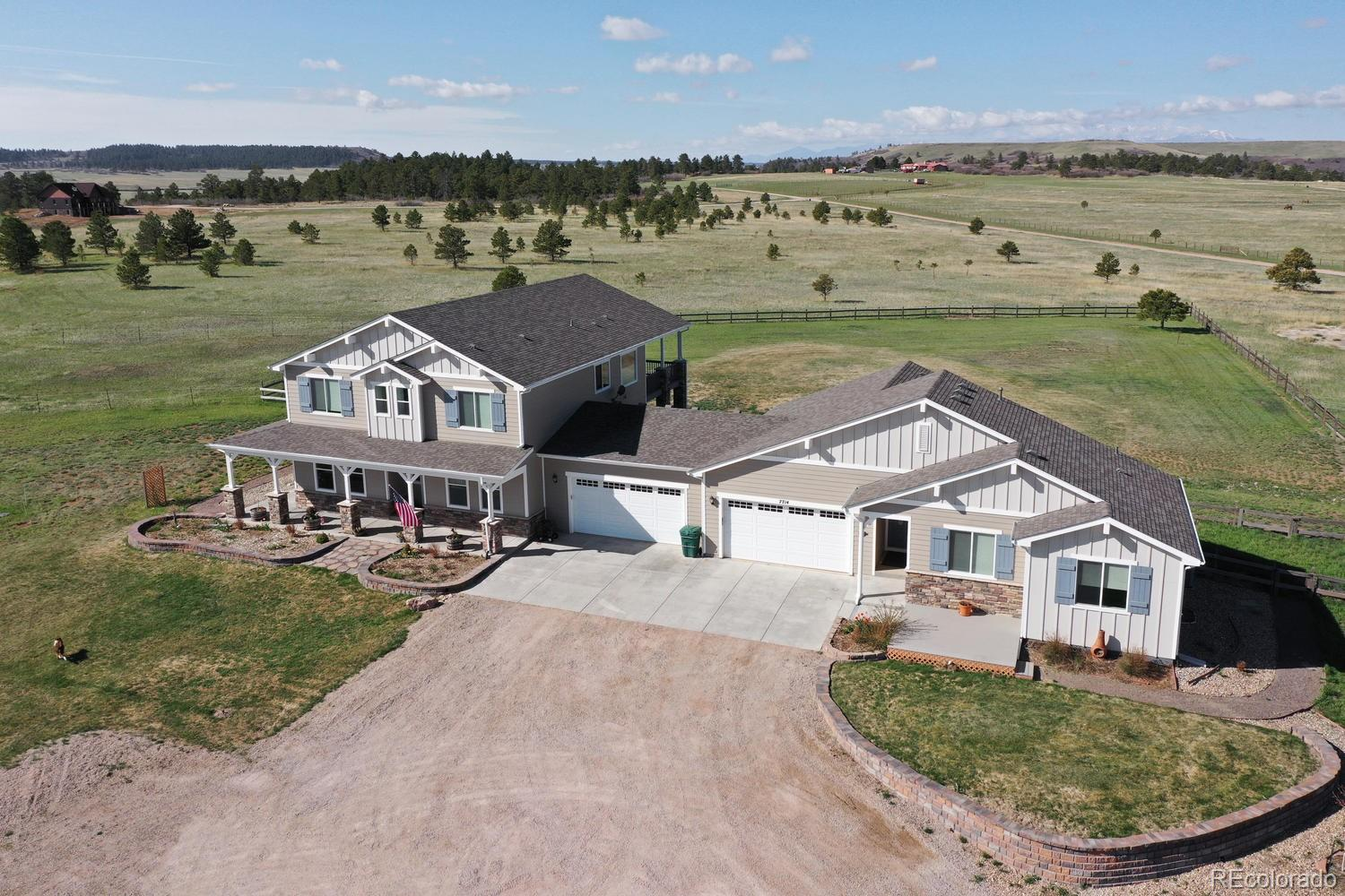 7714 E Greenland Road Property Photo - Franktown, CO real estate listing