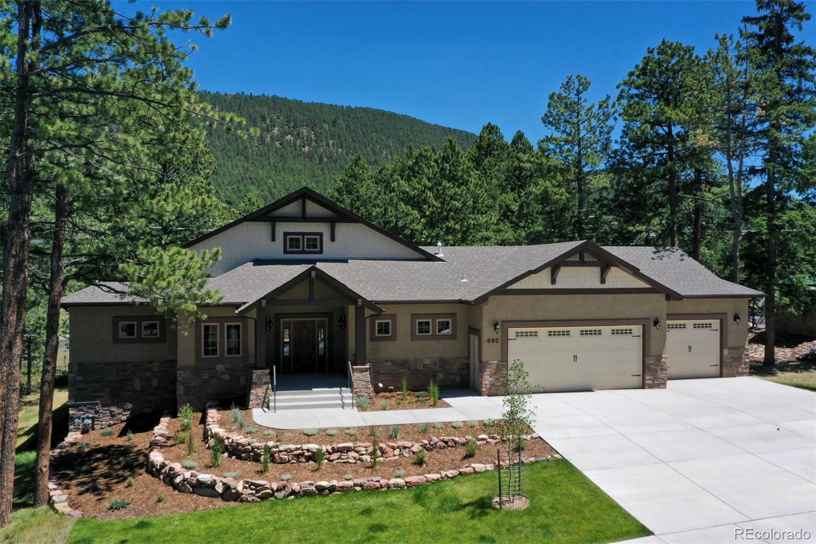 680 Chipmunk Drive Property Photo - Woodland Park, CO real estate listing