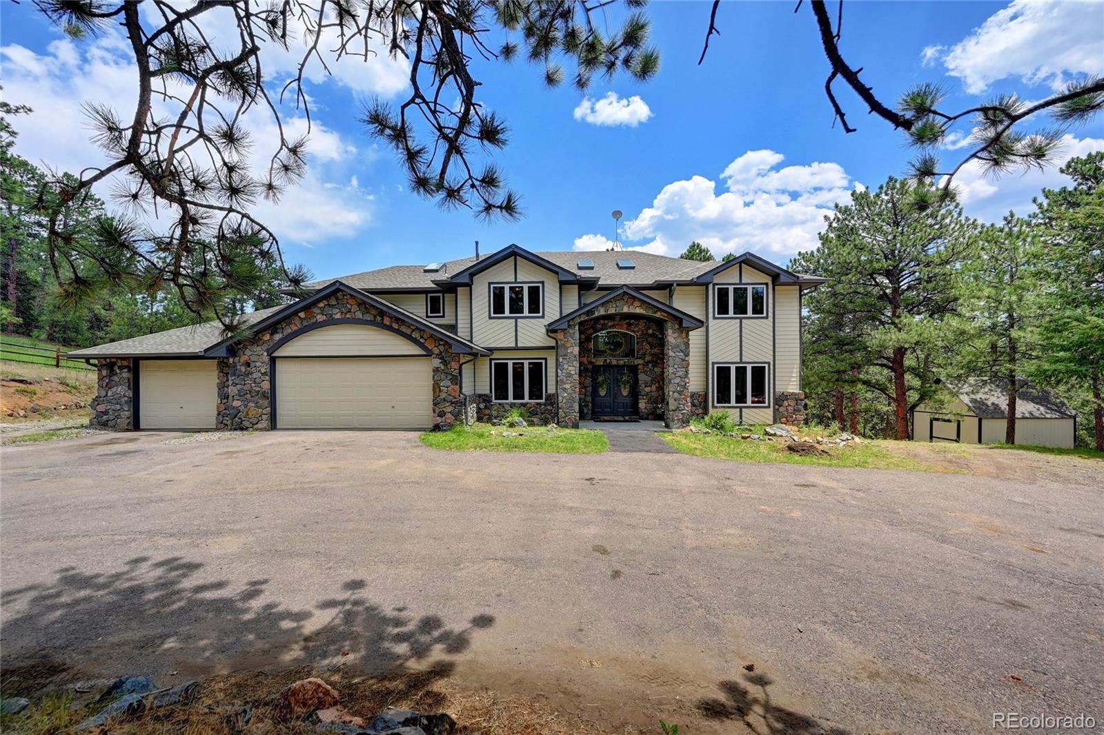 332 Quarter Circle Lane Property Photo - Evergreen, CO real estate listing