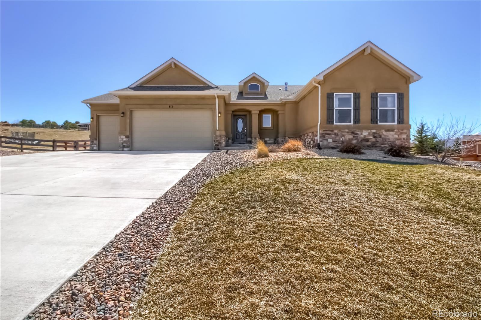 815 Woodmoor Acres Drive Property Photo - Monument, CO real estate listing