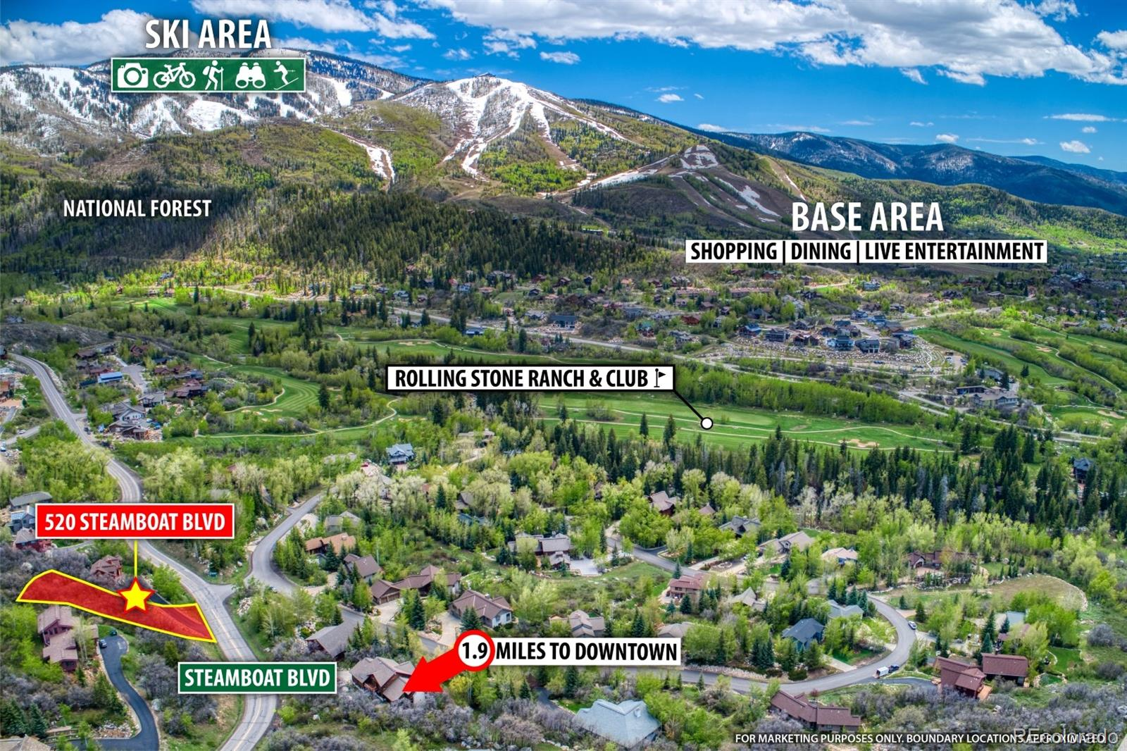 520 Steamboat Boulevard Property Photo - Steamboat Springs, CO real estate listing