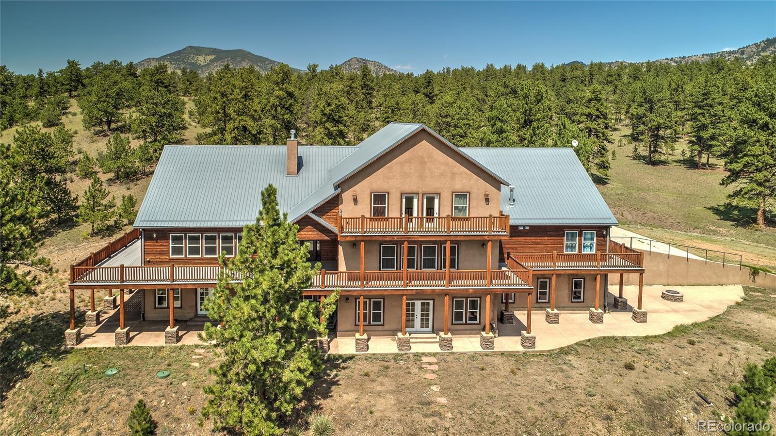 750 Old Kathleen Trail, Guffey, CO 80820 - Guffey, CO real estate listing