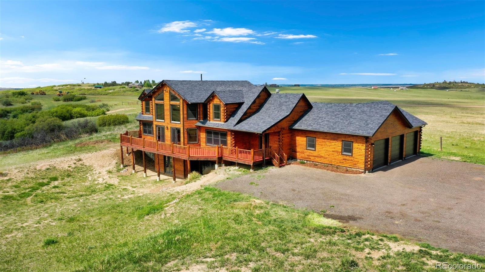 6995 Dahlberg Road Property Photo - Franktown, CO real estate listing
