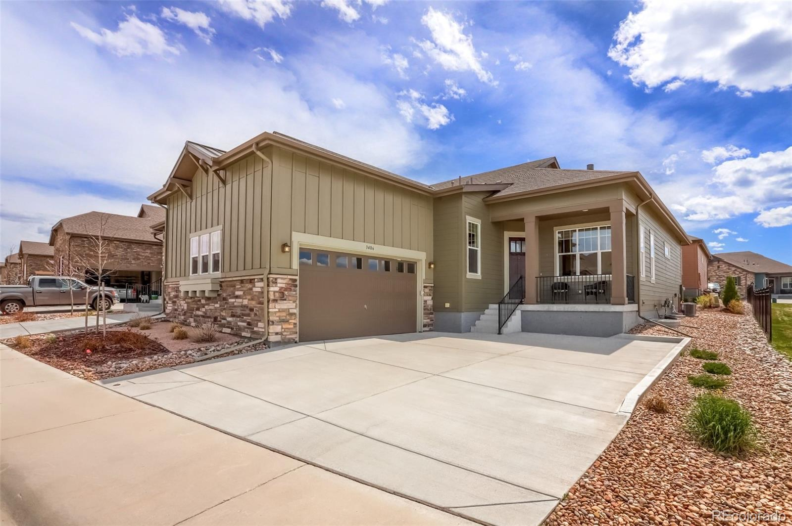 3406 New Haven Circle Property Photo - Castle Rock, CO real estate listing