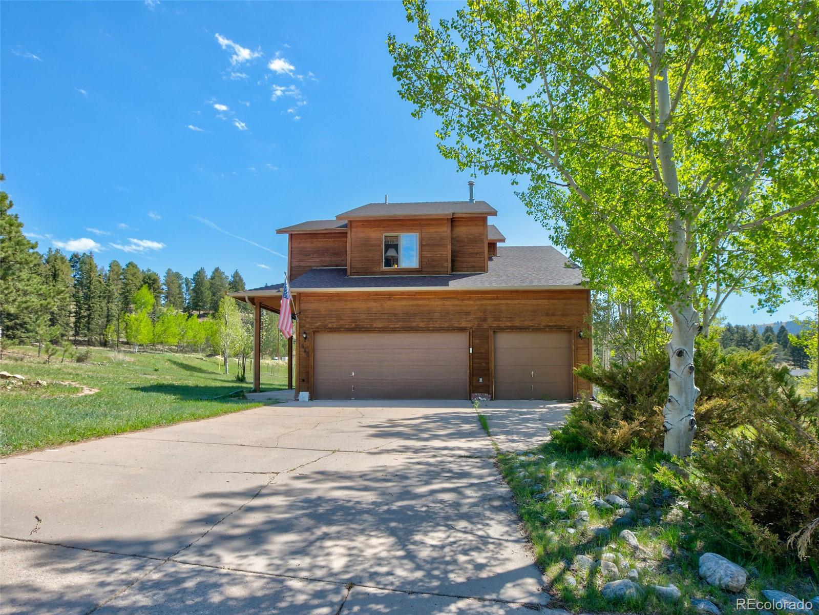 580 Black Bear Trail Property Photo - Woodland Park, CO real estate listing