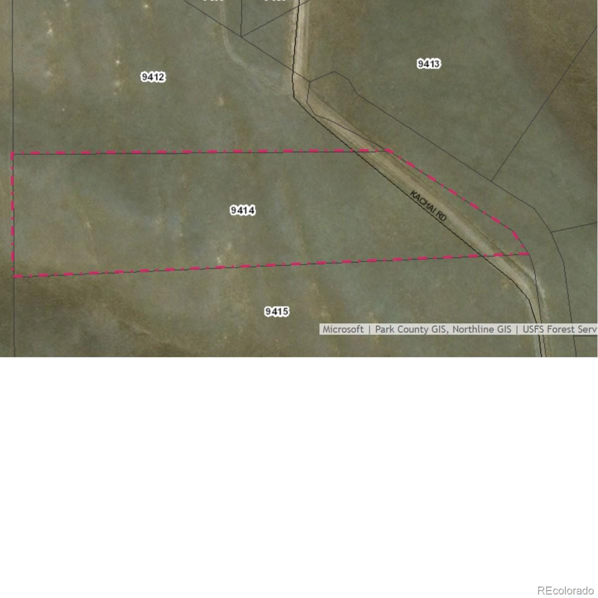 Kachi Road Property Photo - Hartsel, CO real estate listing