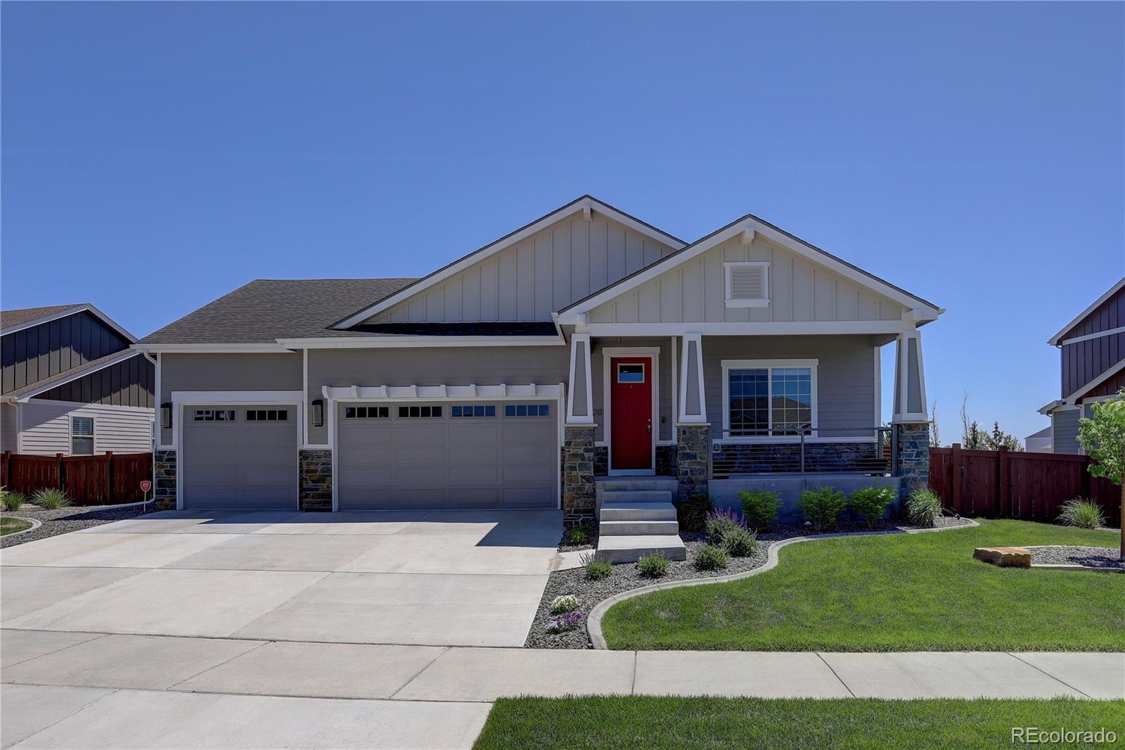 6020 Yellowtail Street Property Photo - Timnath, CO real estate listing