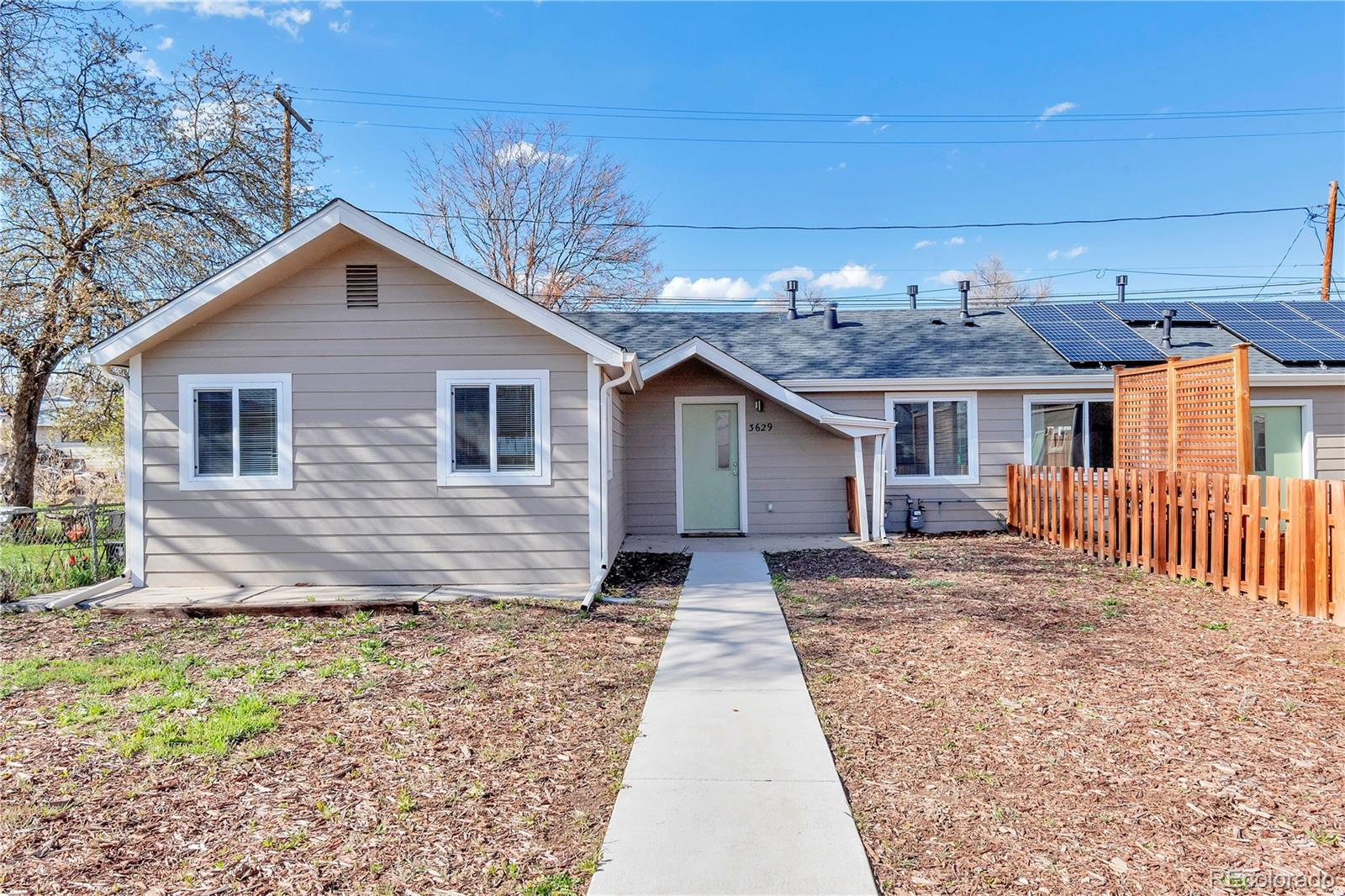 3629 W Custer Place Property Photo - Denver, CO real estate listing