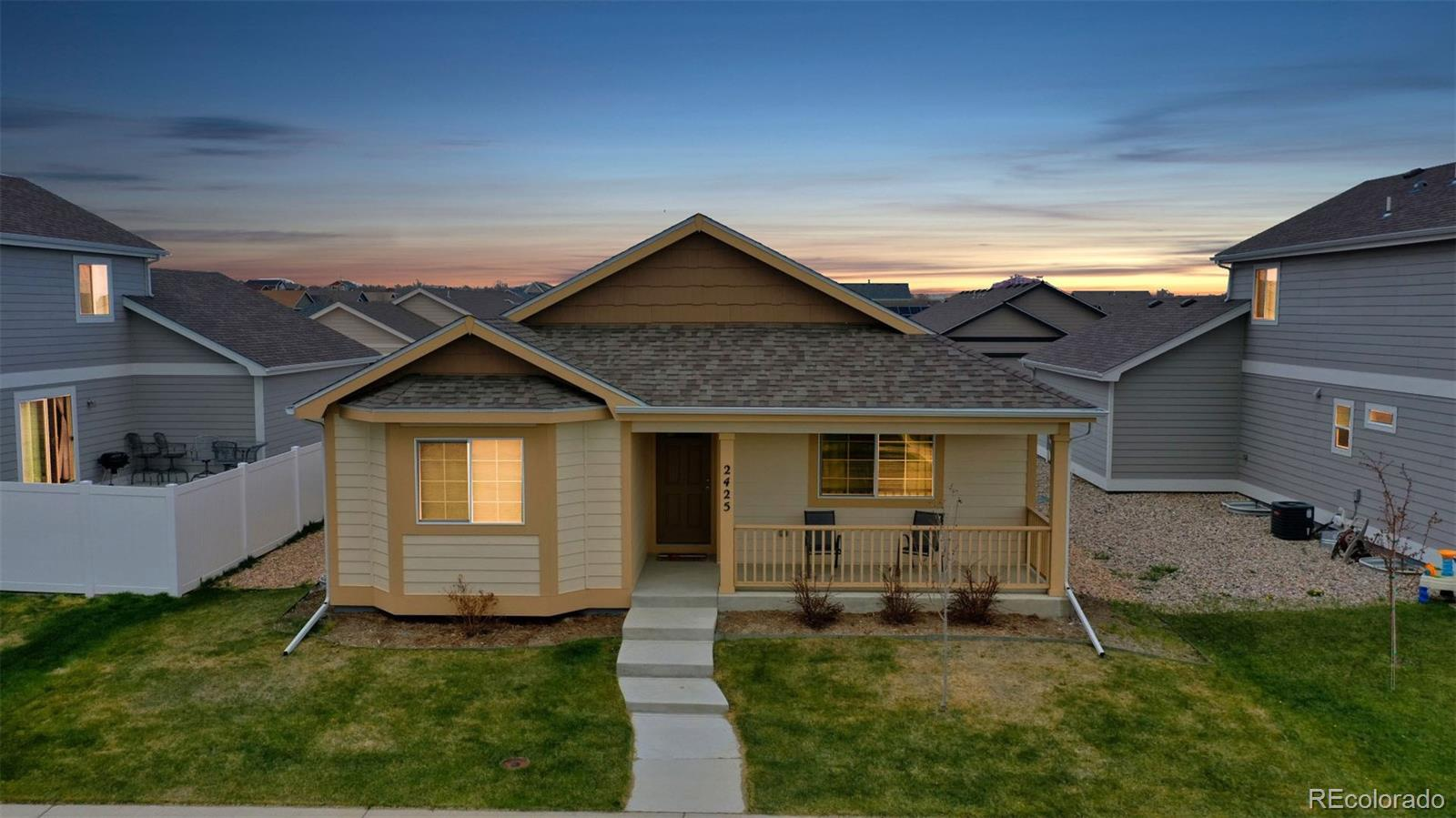 2425 Shooting Star Way Property Photo - Evans, CO real estate listing