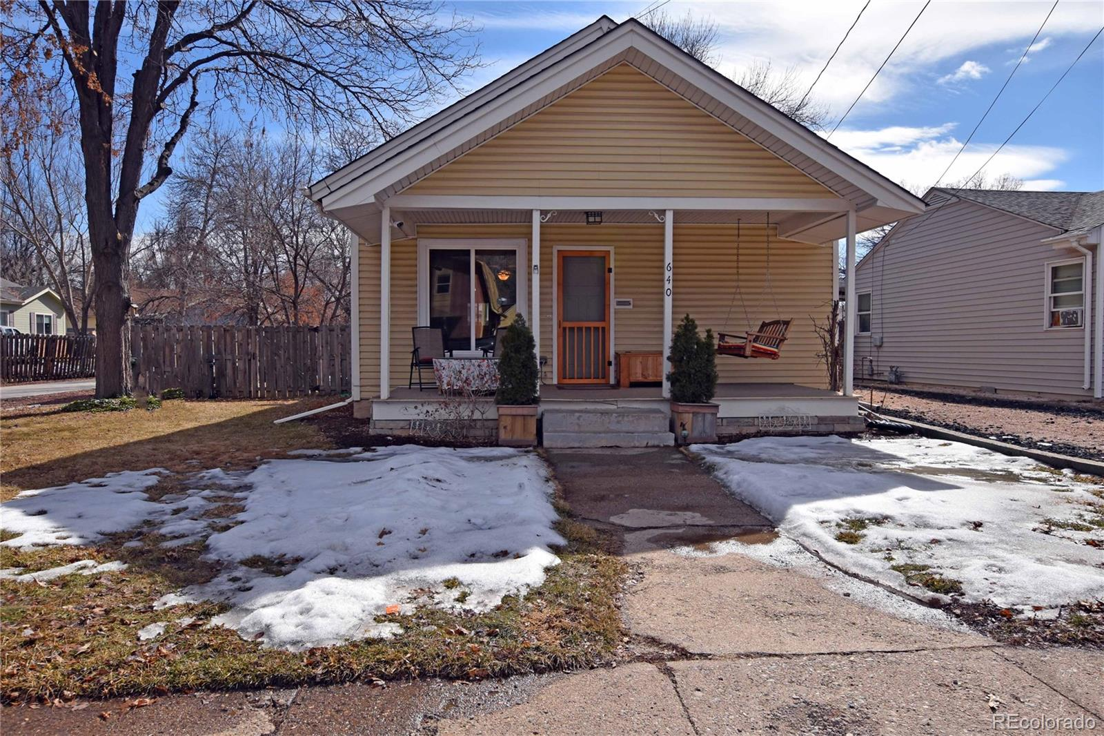 640 W 10th Street Property Photo - Loveland, CO real estate listing