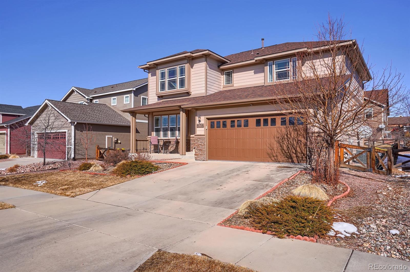 8058 Hollygrape Lane Property Photo - Colorado Springs, CO real estate listing