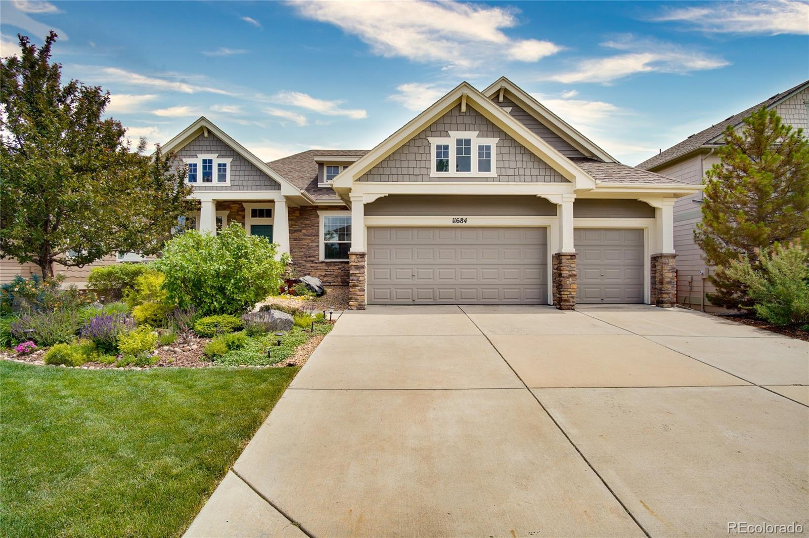 11684 S Breeze Grass Way Property Photo - Parker, CO real estate listing