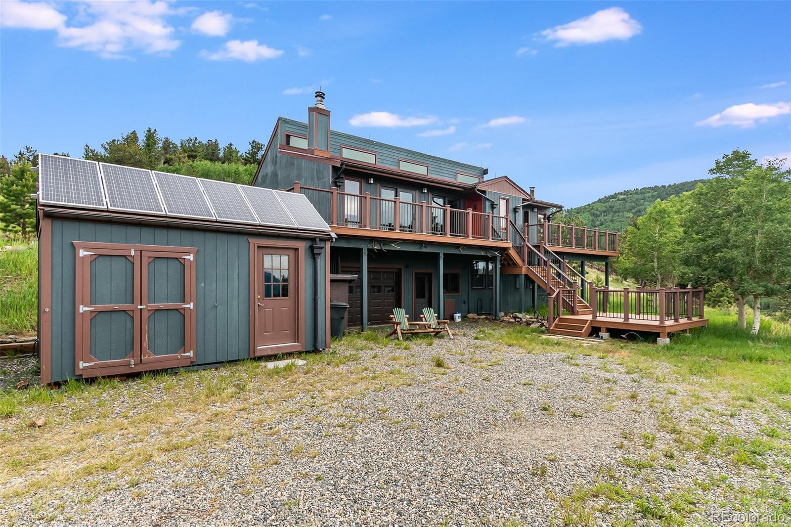 1795 York Gulch Property Photo - Idaho Springs, CO real estate listing