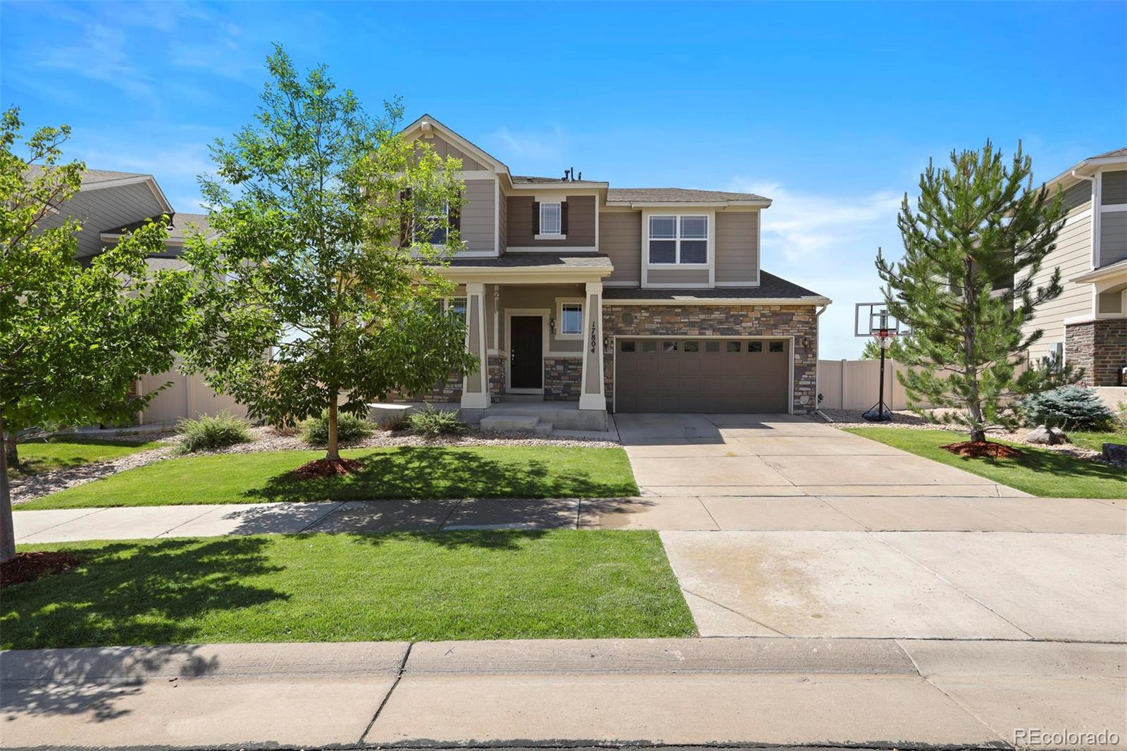 17804 Mimosa Street Property Photo - Parker, CO real estate listing