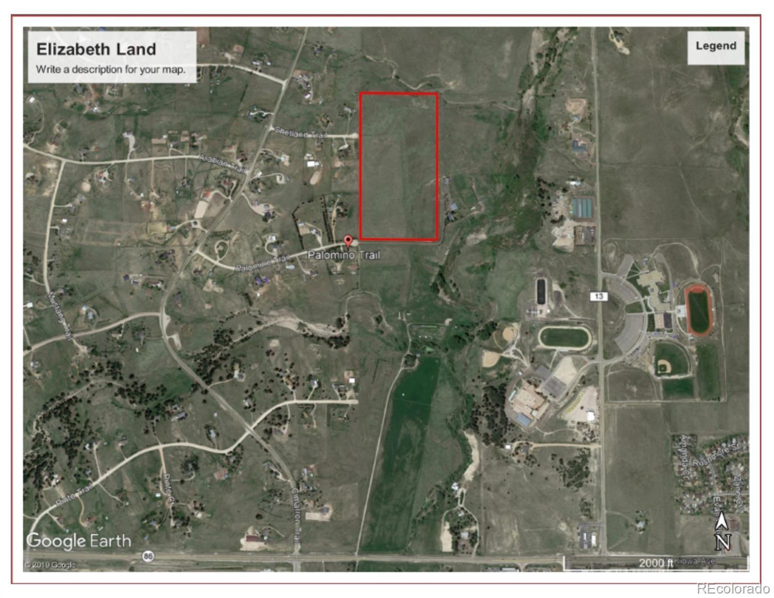 Palomino Trail Property Photo - Elizabeth, CO real estate listing