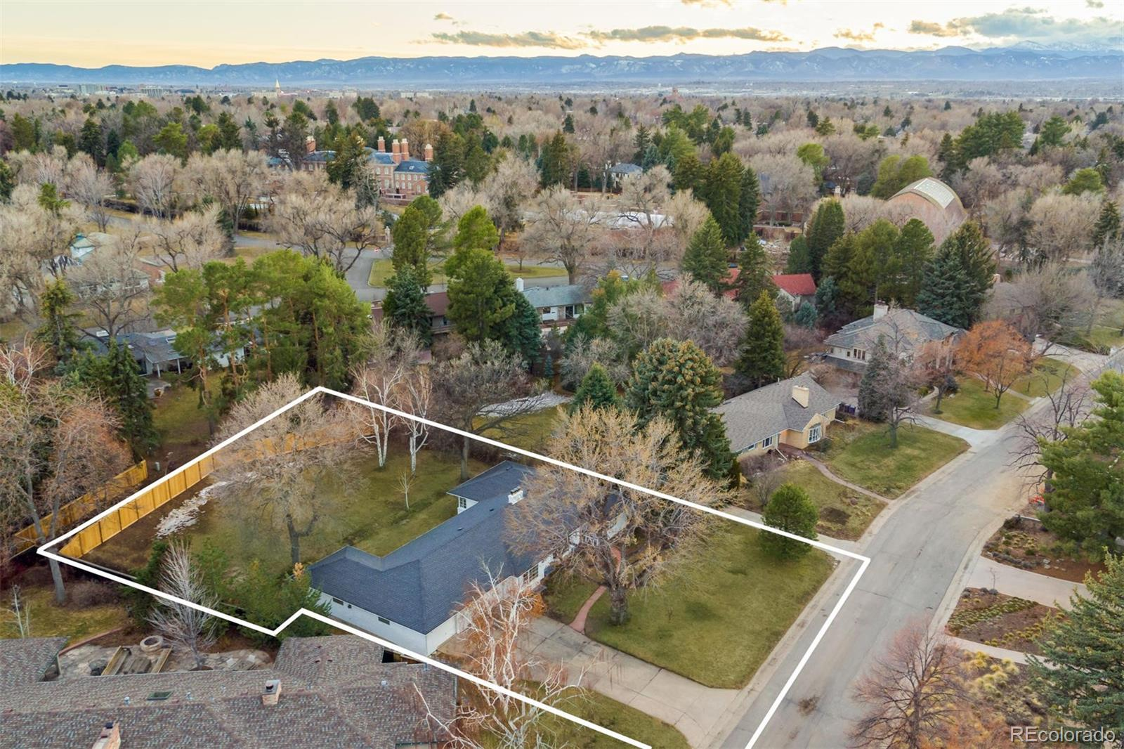 3540 Belcaro Lane Property Photo - Denver, CO real estate listing