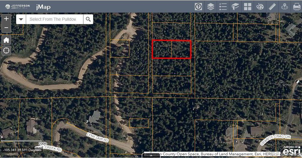 Lot 26 Property Photo - Evergreen, CO real estate listing