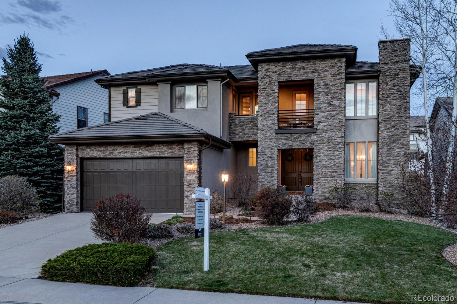 9656 Sunset Hill Drive Property Photo - Lone Tree, CO real estate listing