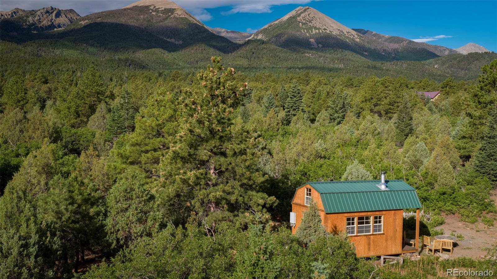 3636 County Road 47 Property Photo - Howard, CO real estate listing