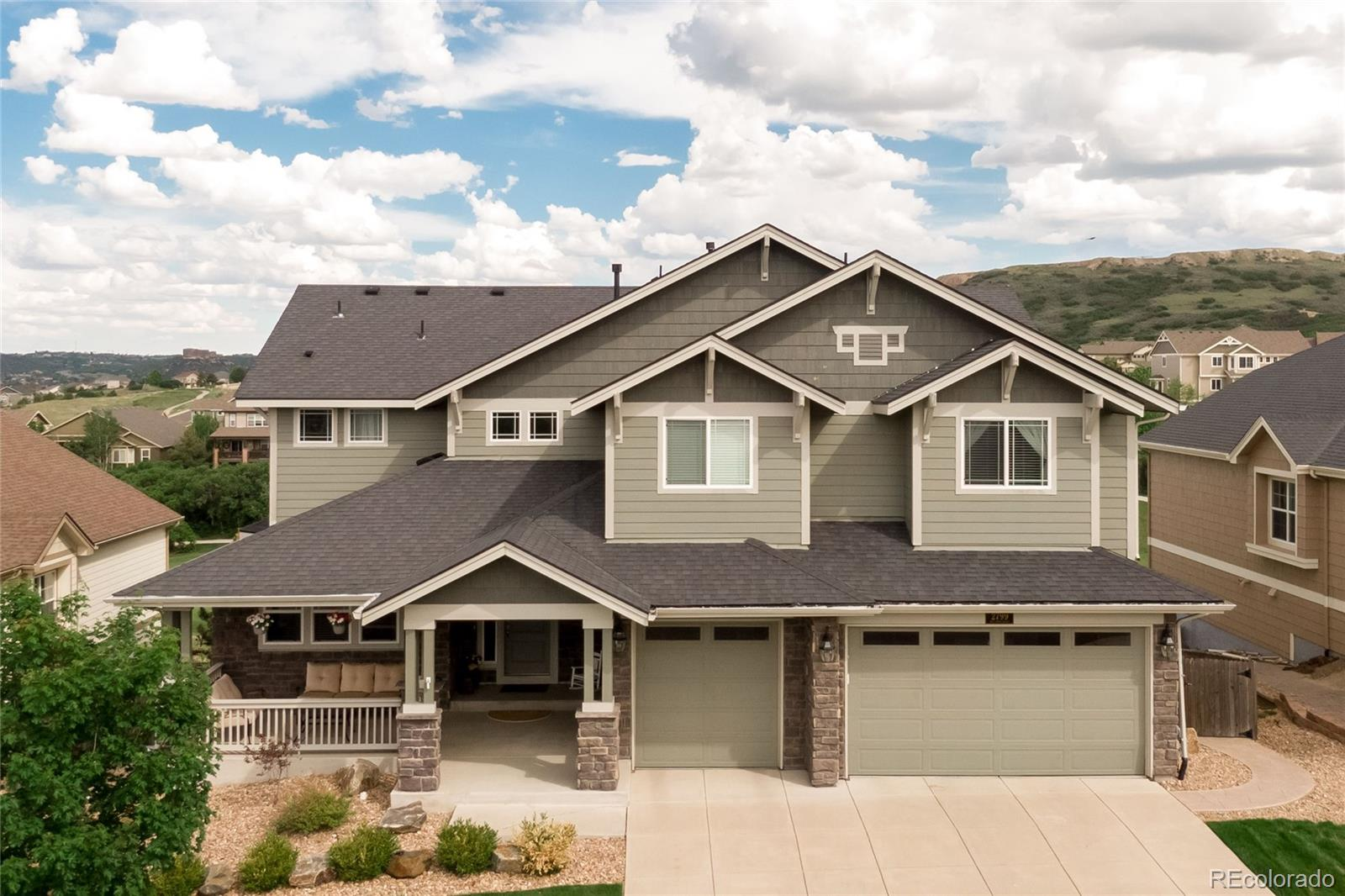 2799 Red Hawk Ridge Drive Property Photo - Castle Rock, CO real estate listing