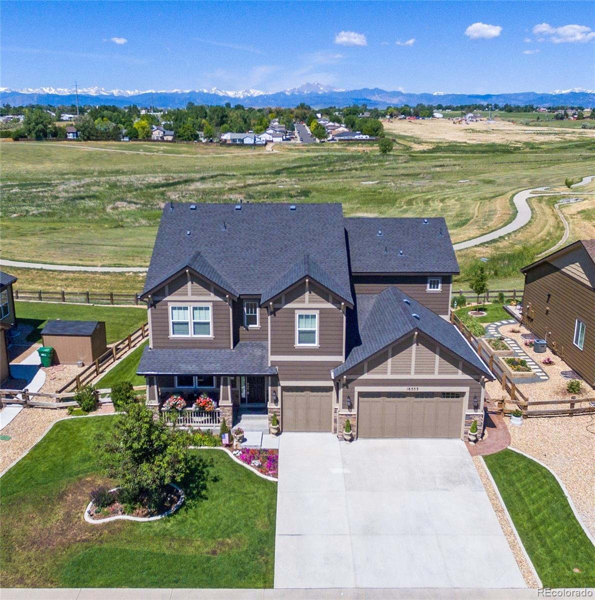 16555 Sanford Street Property Photo - Mead, CO real estate listing