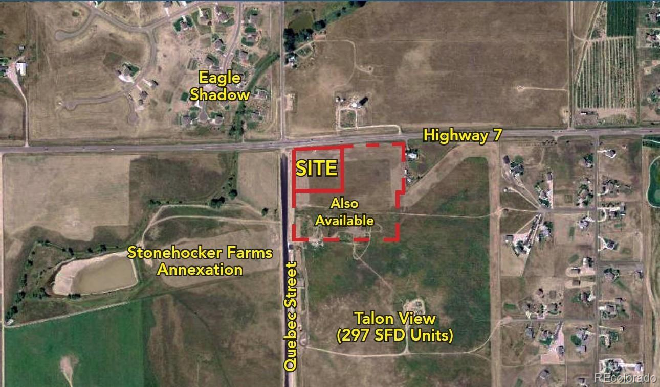 Quebec and Highway 7 Property Photo - Thornton, CO real estate listing