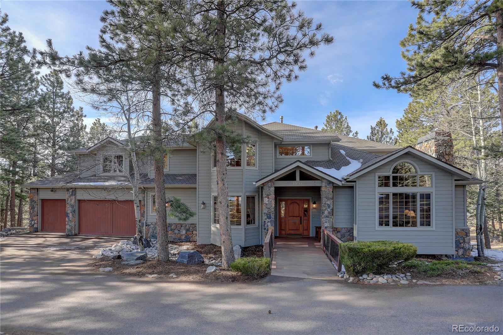 29466 Targhee Lane Property Photo - Evergreen, CO real estate listing
