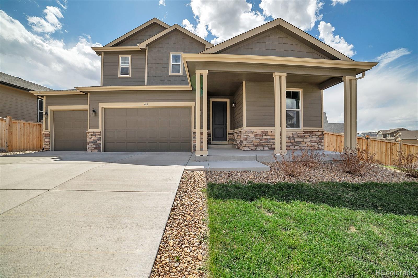 488 Tippen Place Property Photo - Castle Rock, CO real estate listing