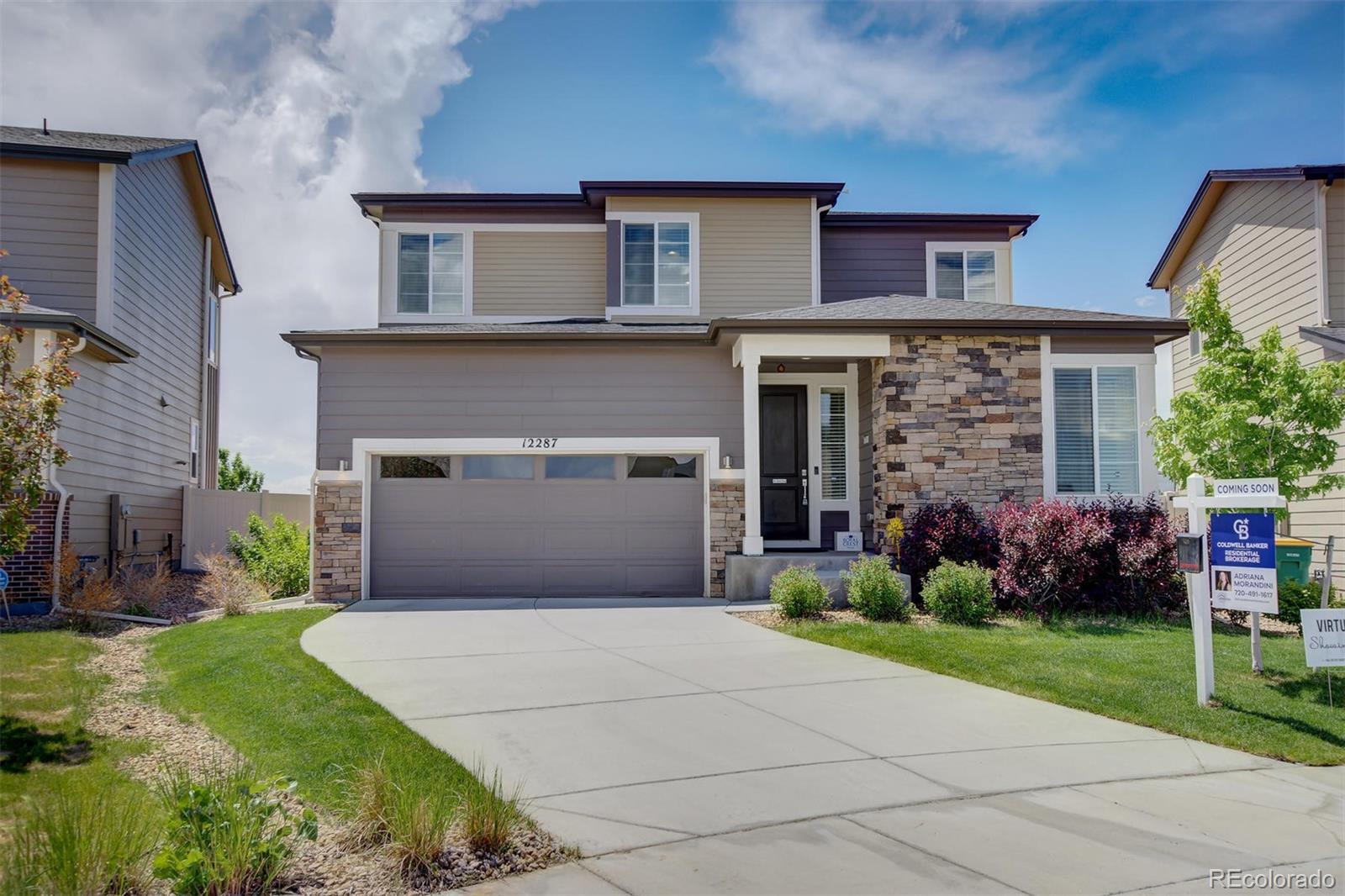 12287 Coral Burst Lane Property Photo - Parker, CO real estate listing