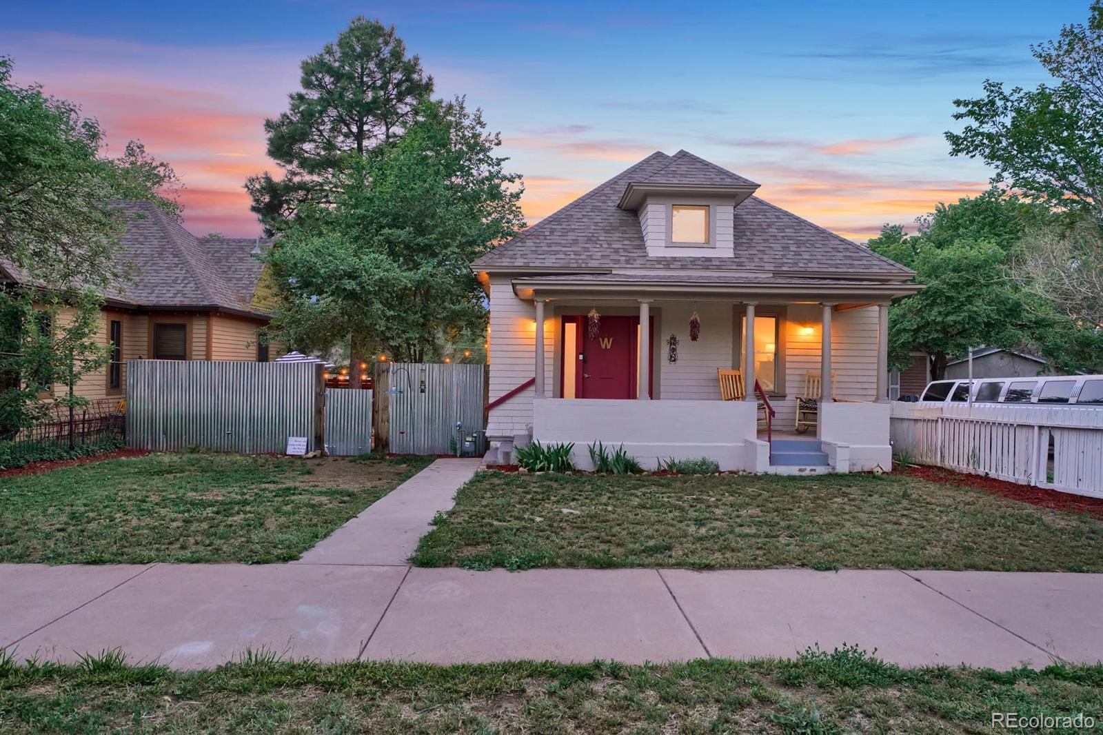 718 Sahwatch Street Property Photo - Colorado Springs, CO real estate listing