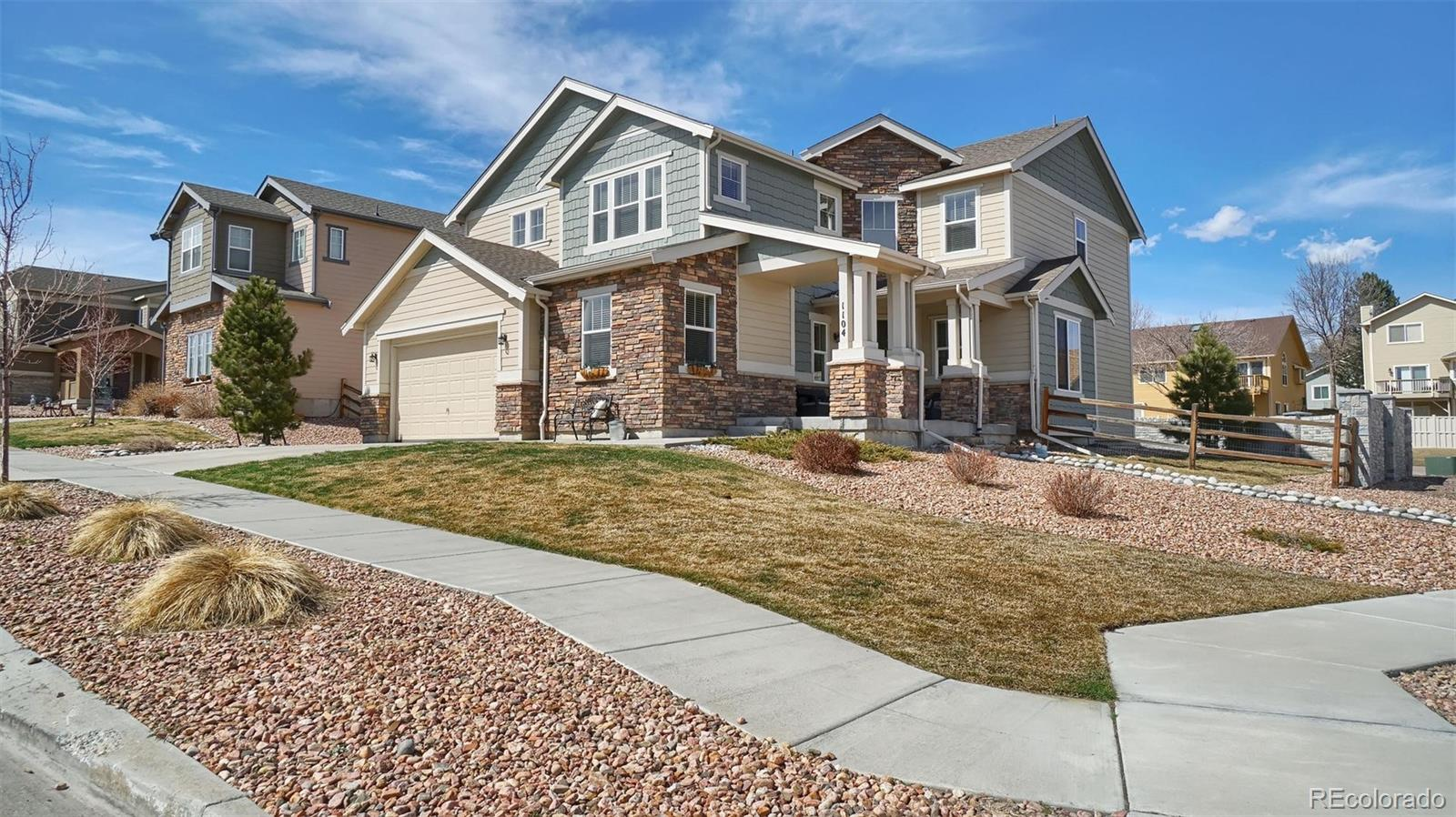 1104 Crown Haven Circle Property Photo - Colorado Springs, CO real estate listing