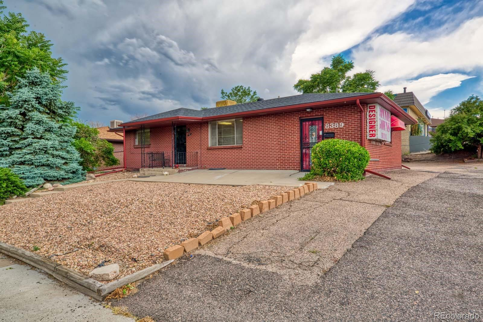 8389 Cherokee Street Property Photo - Denver, CO real estate listing