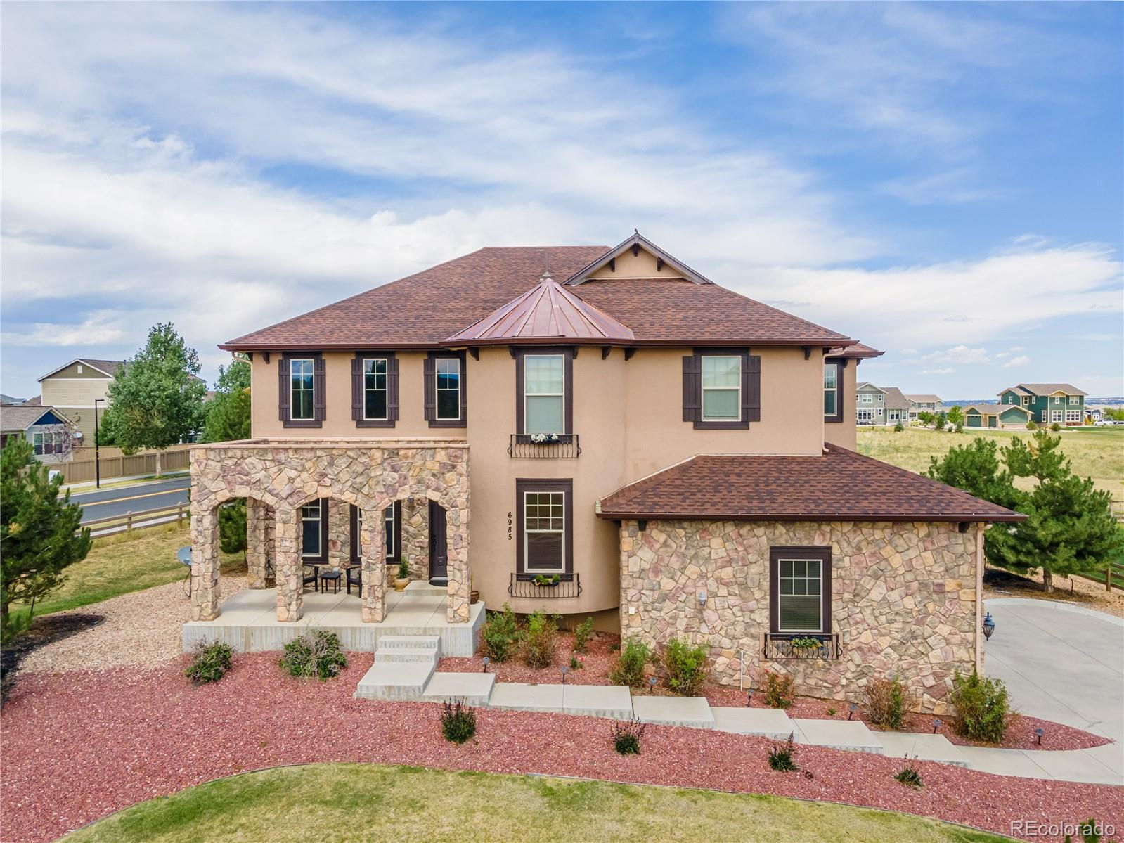6985 Fallon Circle Property Photo - Castle Rock, CO real estate listing