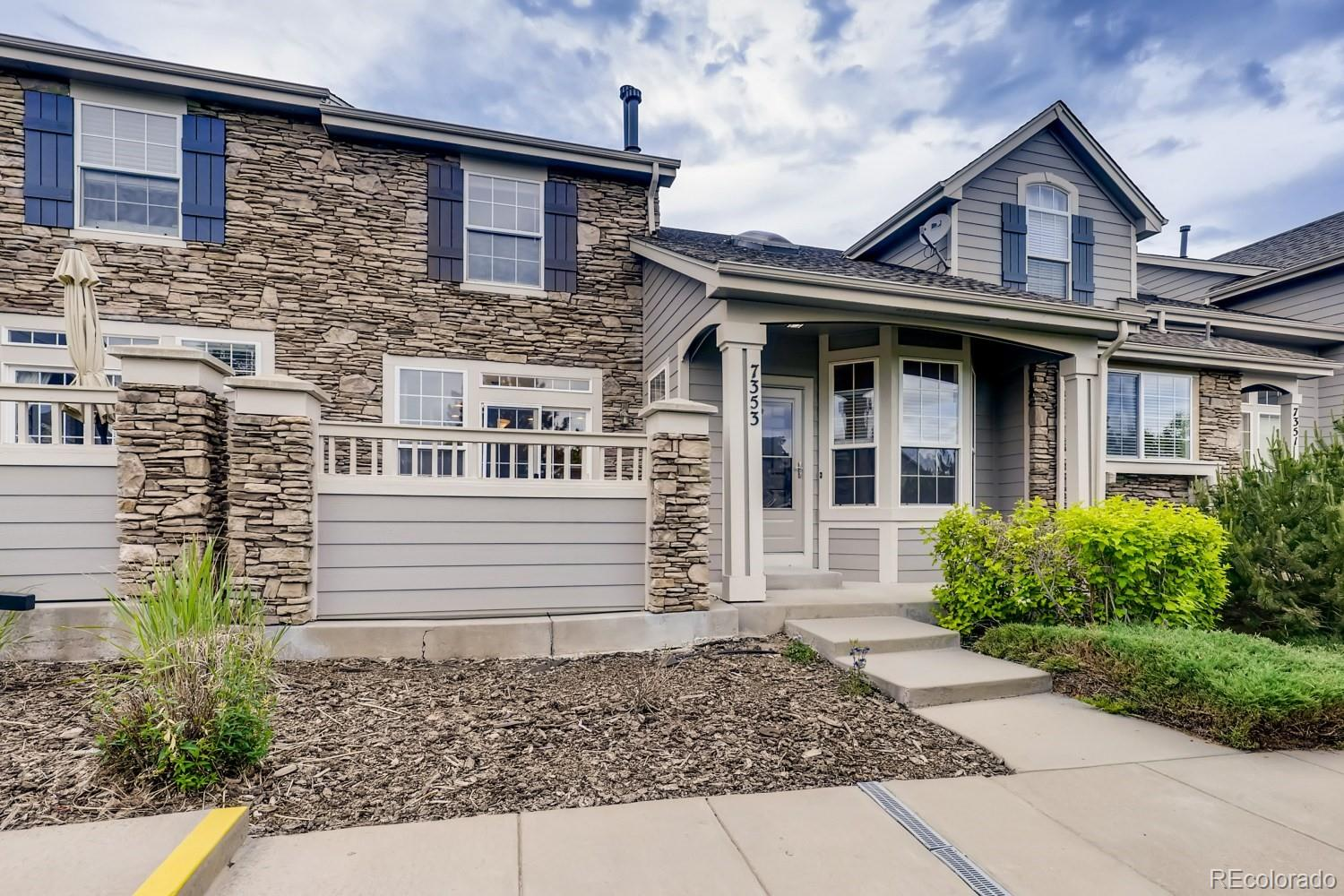 7353 Norfolk Place Property Photo - Castle Pines, CO real estate listing