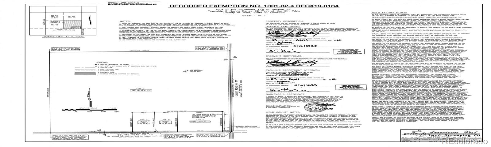 Lot C County Road 77 Property Photo - Roggen, CO real estate listing