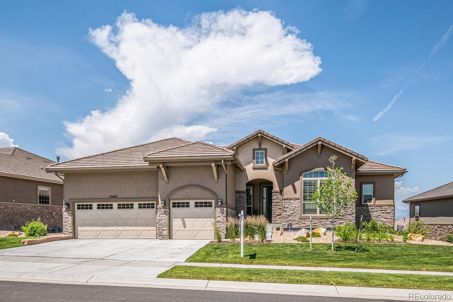 15607 Deer Mountain Circle Property Photo - Broomfield, CO real estate listing