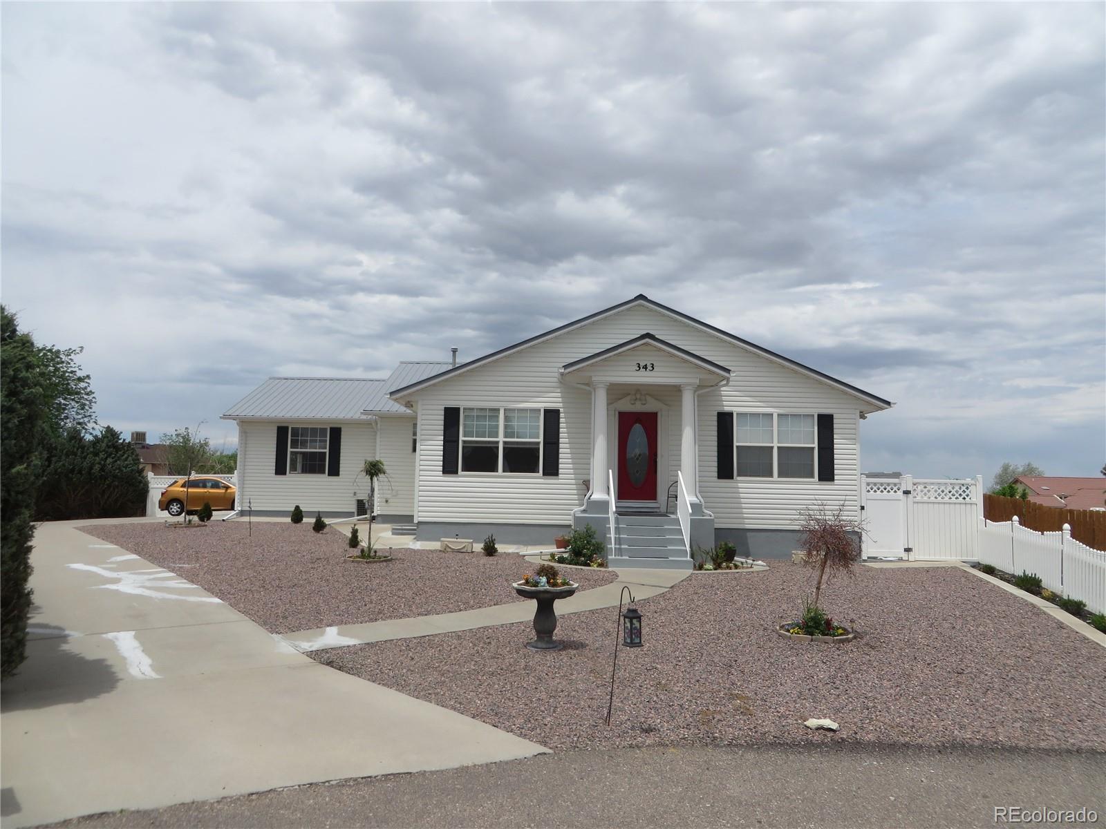 343 E Bond Court Property Photo - Pueblo West, CO real estate listing