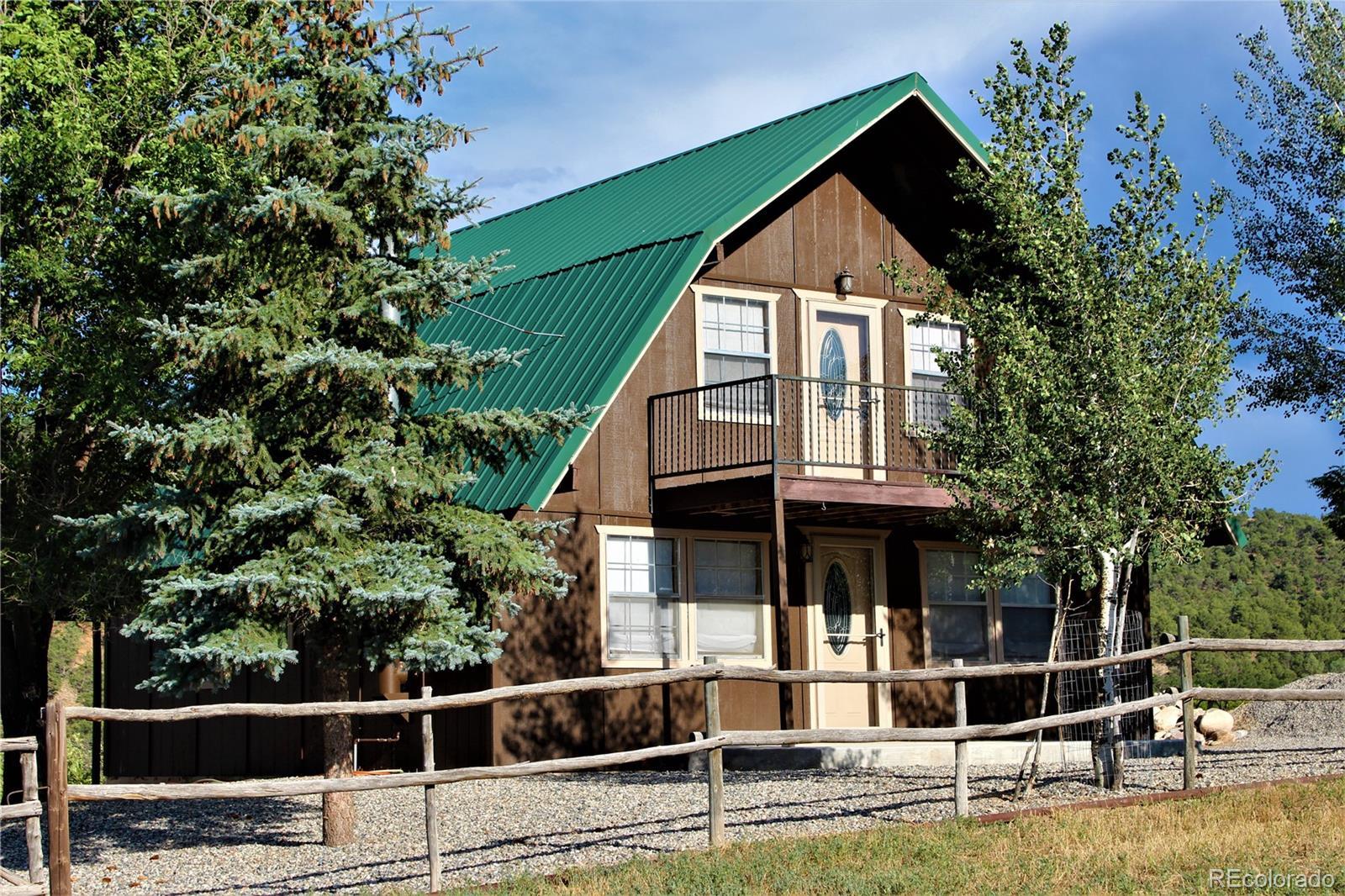 274 Cottonwood Creek Road Property Photo - Coaldale, CO real estate listing