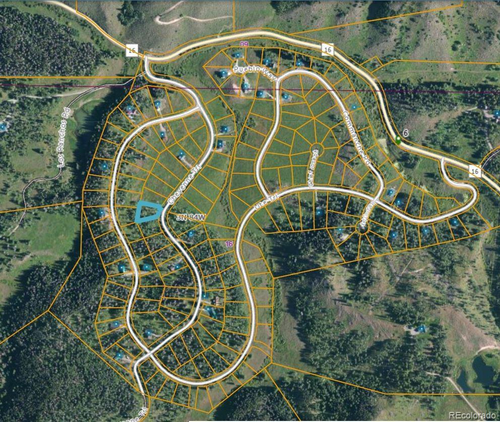 22551 Cheyenne Trail Property Photo - Oak Creek, CO real estate listing