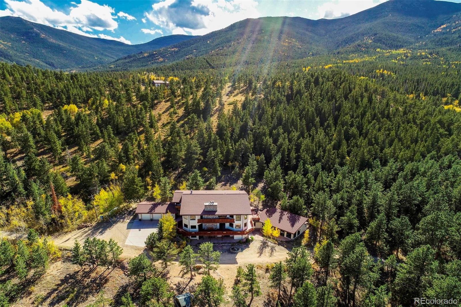 14321 Peak To Peak Highway Property Photo - Allenspark, CO real estate listing