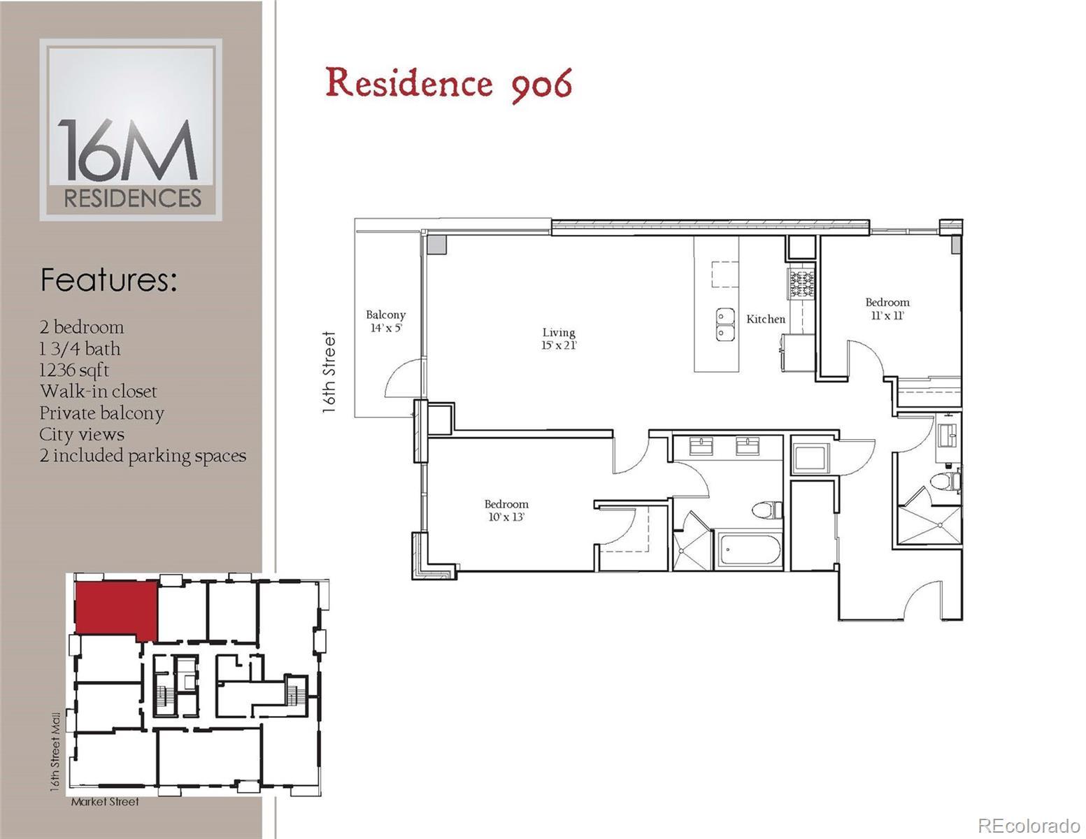 1560 Market Street #906 Property Photo - Denver, CO real estate listing