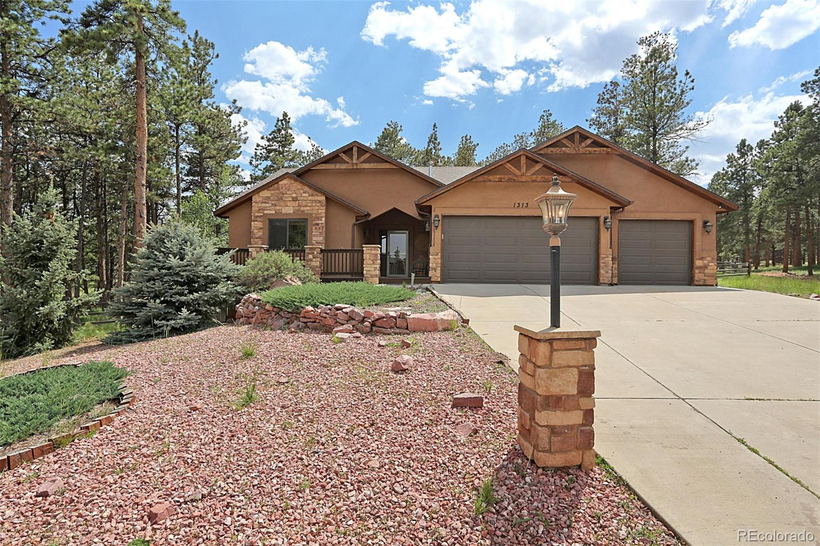 1313 Snowshoe Court Property Photo - Woodland Park, CO real estate listing