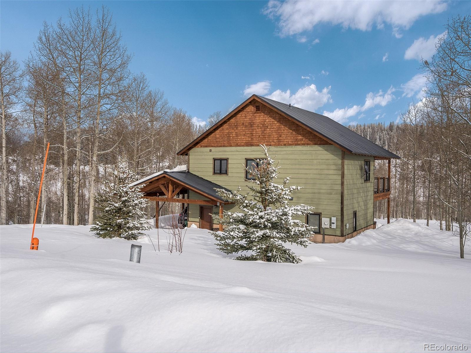 26935 Beaver Canyon Drive Property Photo - Clark, CO real estate listing