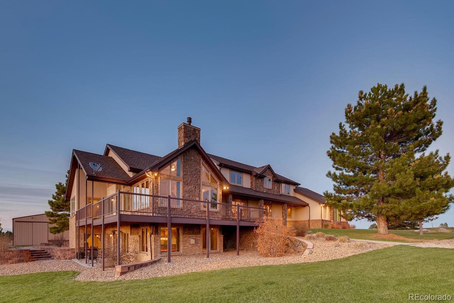 11437 Conestoga Place Property Photo - Franktown, CO real estate listing