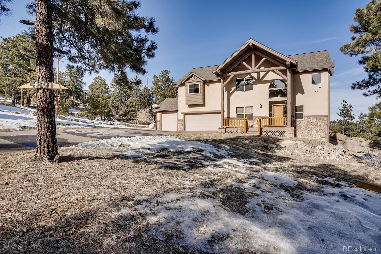 5891 Northwood Drive, Evergreen, CO 80439 - Evergreen, CO real estate listing