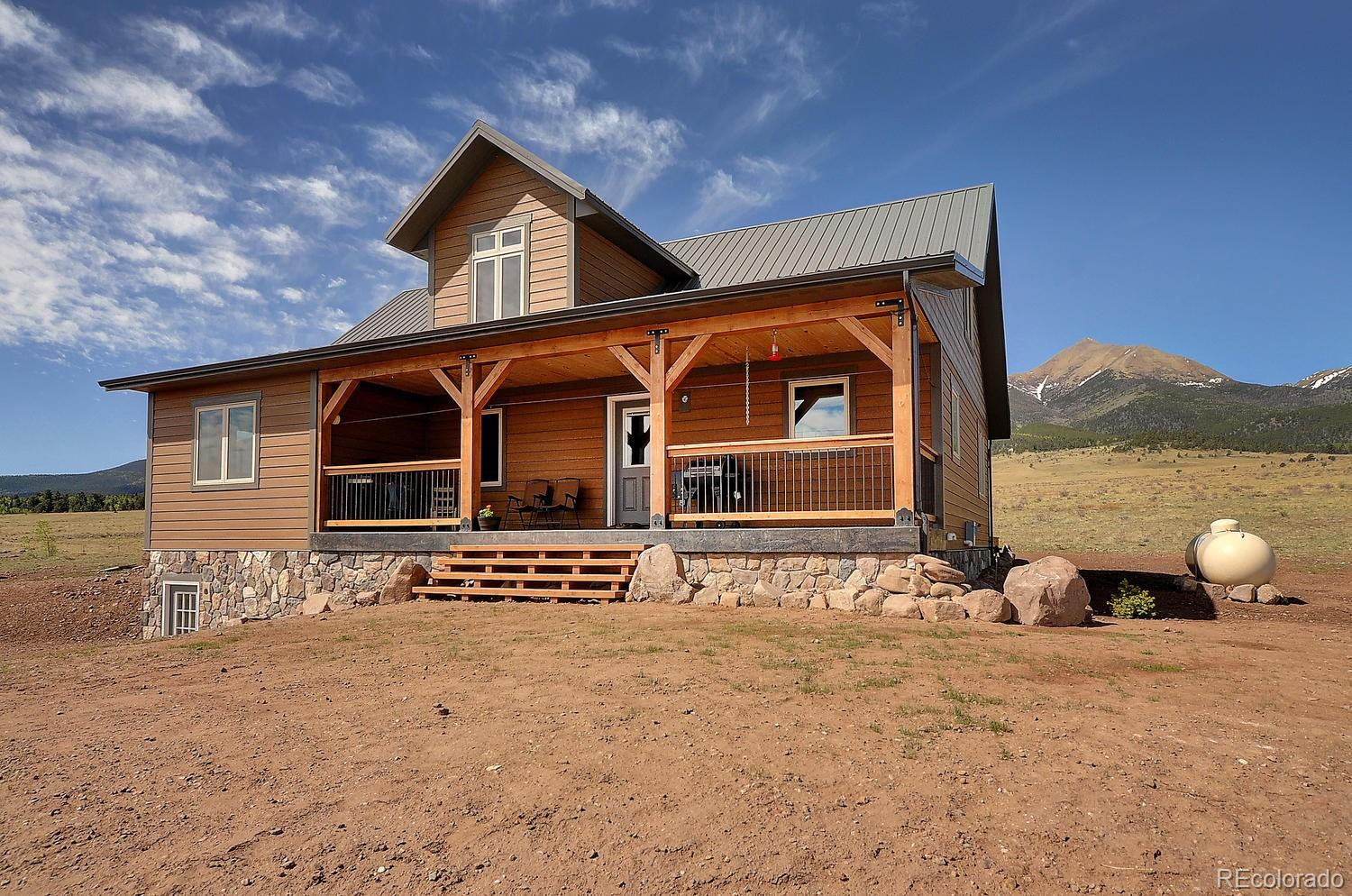 1280 Dry Creek Drive Property Photo - Westcliffe, CO real estate listing