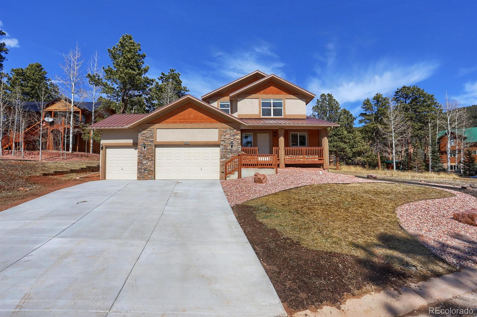 600 Skyline Drive Property Photo - Woodland Park, CO real estate listing