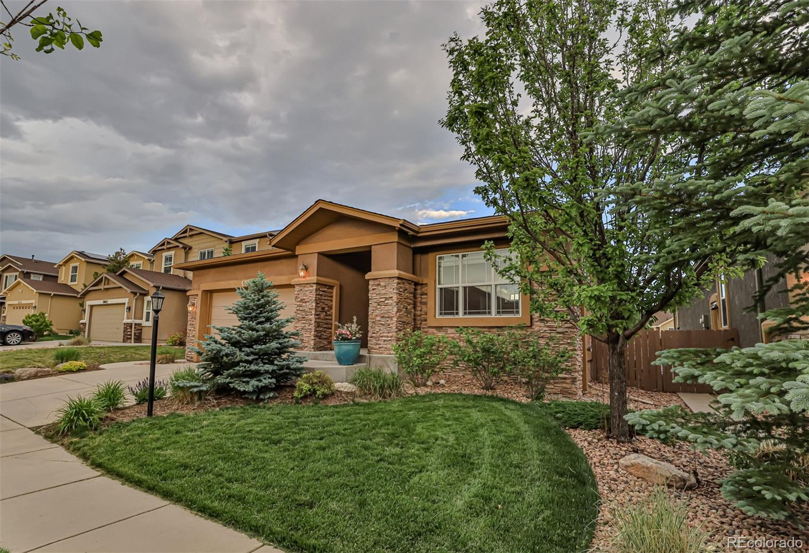 5055 Farris Creek Court Property Photo - Colorado Springs, CO real estate listing